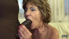 10 Katala Hot granny ass full with black dick anal