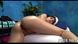 These 3 beauties fucked hard by their massage therapist after getting a soothing rubdown