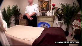 Sexy Tv Reporter Babe Gets Japanese Hot Massage Sex