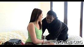 Thug drills white girl