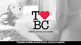 TLBC - Sexy Escort Gets Throat Fucked By Black Cock