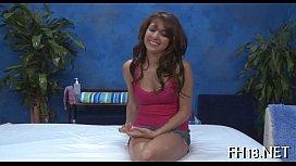 Cheerful massage