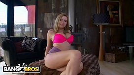 BANGBROS - 18 Year Old Russian Amateur With Huge Tits And A Sweet Ass