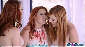Eden Blairs two stepmoms Kendra J and Lauren want her pussy