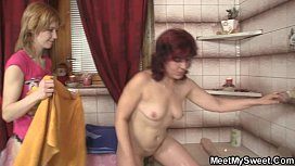 His family lures her into threesome xxx video
