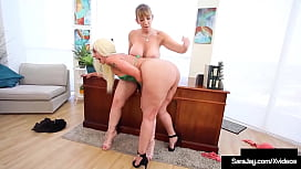 Big Booty Cougars Alexis Andrews And Sara Jay Moisten Their Milf Muffs