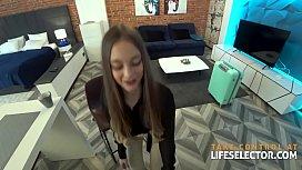 Schoolgirl and yoga fantasies with your slutty girlfriend Sola Zola