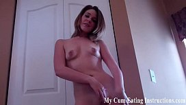 Eat your cum after we play a little jerk off game CEI