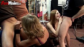 German Amateur Kinky Groupsex at the convenience store