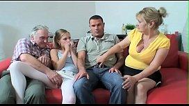 KIK Alisas69 - Family Movie Bonding