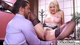 Big Round Tits Girl sarah vandella Get Banged In Office clip