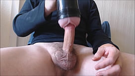 My solo 189 (Hairy cock fucking pink lady and cumming)