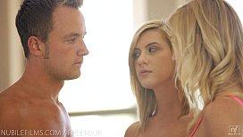 Nubile Films - Hayden Hawkens loans her mans cock to her cute girlfriend jpav.me