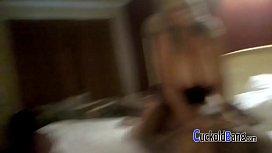 Chubby blonde hotwife with new bull CuckoldBang.com