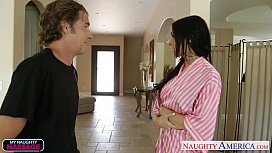 Superb masseur Brandy Aniston fucking