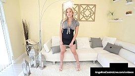 Thick Cuban Angelina Castro Strap On Dicks Curvy Cristi Ann!