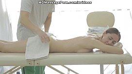 Hot anal sex massage for a fi brunette scene