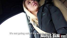 Mofos - Stranded Teens - Flirty Blonde Fucked in Car starring  Nikky Dream