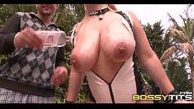 Breasts In Latex Big