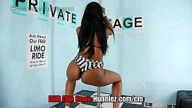 Cici Lowi Ebony Big Booty Model Twerks and Shakes Her Butt