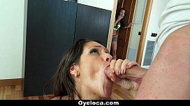 OyeLoca Sexy Samia Duarte Enjoys Big Cock