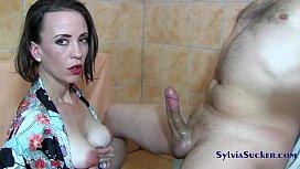Sylvia Chrystall Majestic Japanese Handjob and Titty Fuck