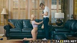 Xander Corvus stuffs Jade Ambers pussy on top