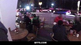 BFFS - Mardi Gras Sluts Flash and Fuck on Bourbon Street