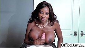 Sex Tape With Slut Busty Hot Office Nasty Girl (Diamond Jackson) video-19