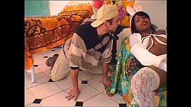 Hot brazilian babysitter banged hard by young boy
