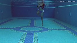 Andreina De Luxe underwater Latina