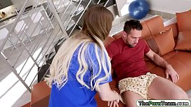 Helpful teen pounded by injured stepdad