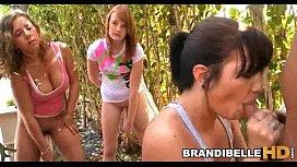 Brandi Belle Outdoor Blowjob