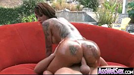 Hard Anal Sex On Camera With Big Oiled Ass Girl (bella bellz) movie-09