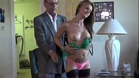 Teen Want To Try Grandfather Cum