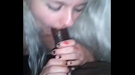 Killer Young Blond with fat ass Sucks BBC