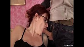 Old and Young Anal with Hairy Granny