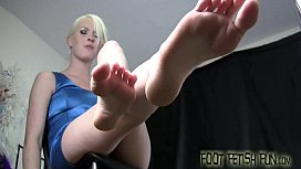 Let us wiggle our year old toes for you
