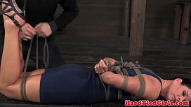 sub India Summer on floor tied up