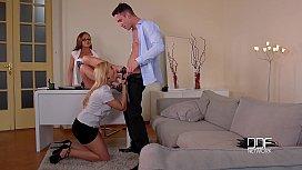 Law Of Attraction - Threesome With Shoe Fetish Aficionados