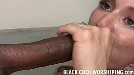 Watch his huge black dick punish my tight pussy