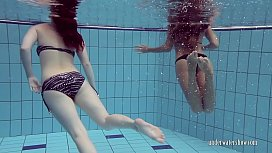 Katrin Privsem and Lucy Gurchenko underwater babes