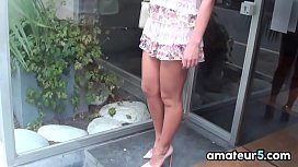 Amateur European Girl With Amazing Legs