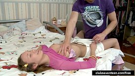 Kinky teen gets nailed and facialized