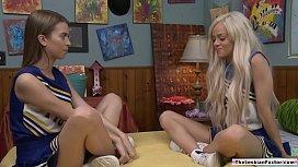 18yo lesbian licks her straight friend