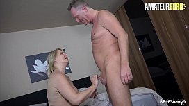 AmateurEuro - Big Tits Blonde Wife Fucks For The First Time In Her Life With Her BFF - Sweet Susi