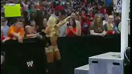 Kelly Kelly and Eve vs Maryse and Melina. porn vid