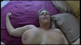 Stepmom Creampied While At