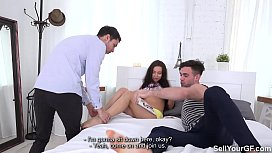 Sell Your GF - Fucking for a boobjob Regina Sparks
