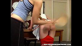 Spanking Teen Jessica - Cheerleader Paddling with Kailee